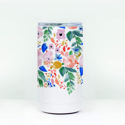 Mary Square Skinny Can Cooler - Autumn Blossom