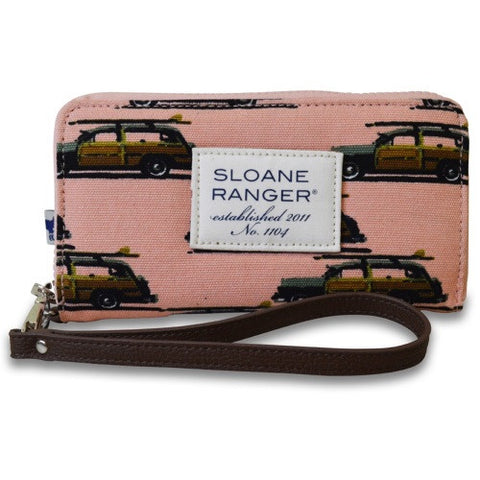 Sloane Ranger Smartphone Wallet- Surfs Up