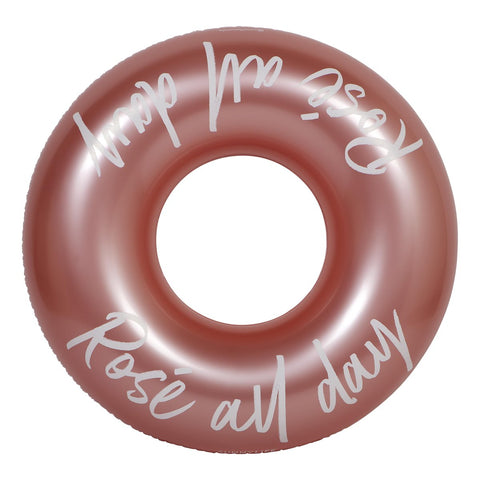 SunnyLIFE Inflatable Pool Ring - Rose All Day