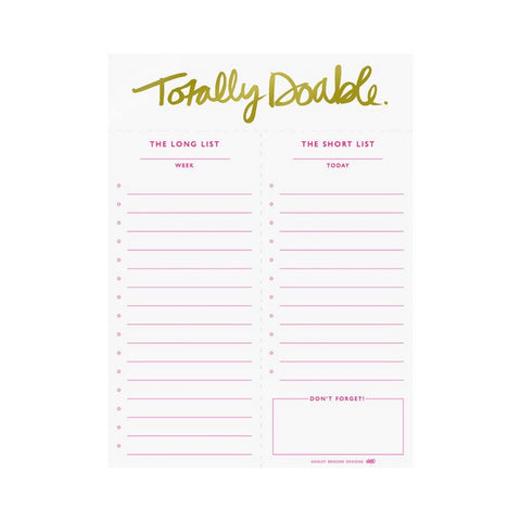 Ashley Brooke Designs Totally Doable Notepad