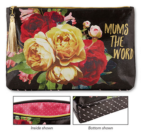 Santa Barbara Hold Everything Large Oil Cloth Bag - Mums the Word