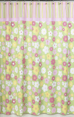 Jojo Designs Shower Curtain- Blossom