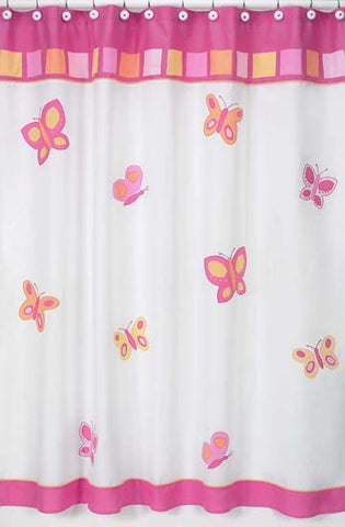 Jojo Designs Shower Curtain- Butterfly