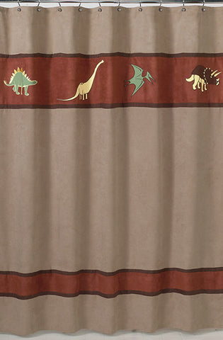 Jojo Designs Shower Curtain- Dinosaur