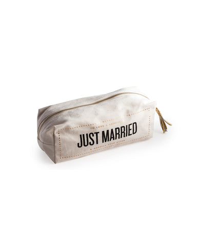 Rosanna Cosmetic Bag - Just Married
