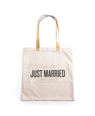 Rosanna Canvas Tote - Just Married