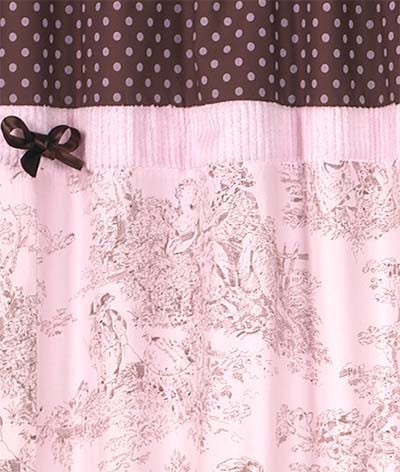 Shower Curtains Pink And Brown.Jojo Designs Shower Curtain Pink Brown Toile French Timely Buys