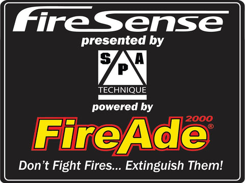 10lb. FireAde2000® FireSense (Manual System) SFI 17.1 Certified with Standard Brackets