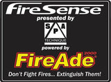 40 lb FIREADE 2000 AUTOMATIC TRAILER FIRE SYSTEM