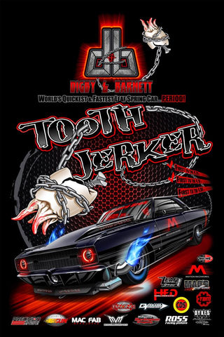 """TOOTH JERKER"" TEAM POSTER"