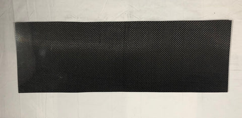 .060 Carbon/Carbon 1' x 4' Sheet WS-9015
