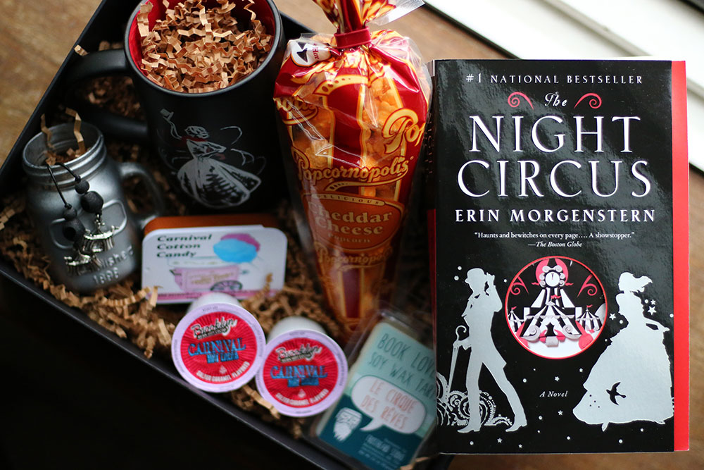 The Night Circus Themed Book Box From Coffee and a Classic