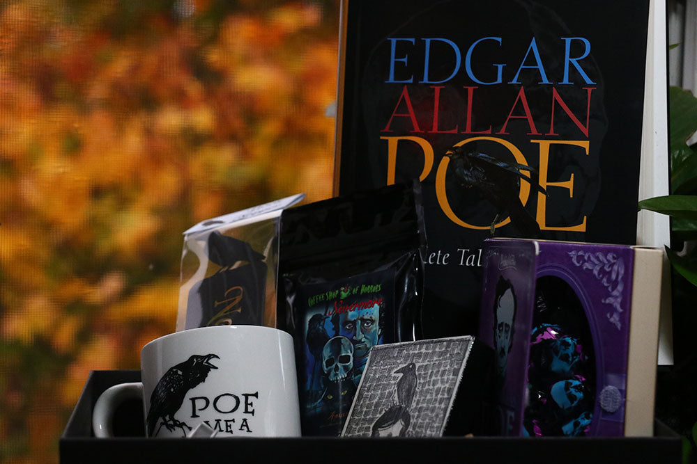 Edgar Allan Poe Themed Coffee and a Classic Book Box