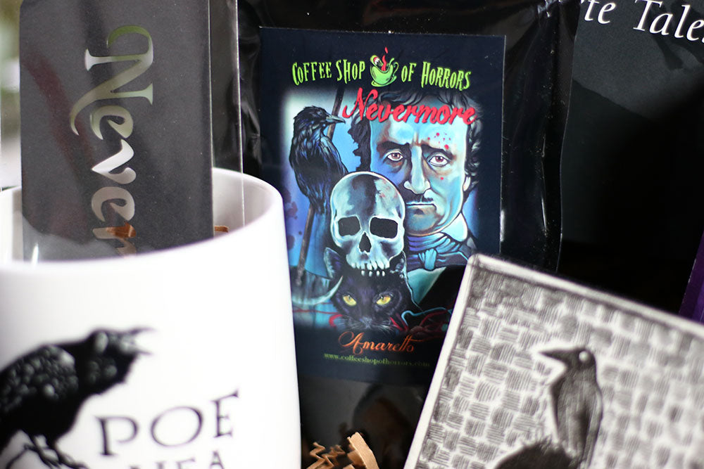 Coffee Shop of Horrors Nevermore Coffee in Coffee and a Classic Book Box