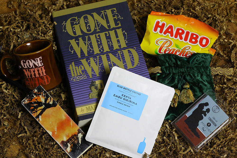 Gone With the Wind Book Box by Coffee and a Classic