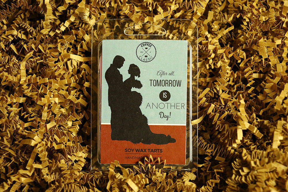 Gone With the Wind wax tarts by Coffee and a Classic