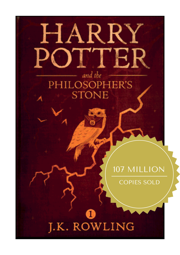 Harry Potter and the Philosopher's Stone Book Cover Coffee and a Classic