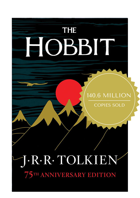 the hobbit book cover coffee and a classic