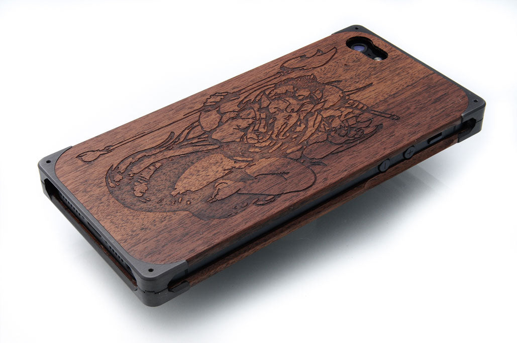 Custom engraving on EXOvault iPhone case