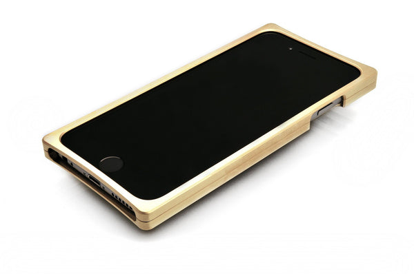 EXO23-S Brass Teak for the iPhone 7/6s/6