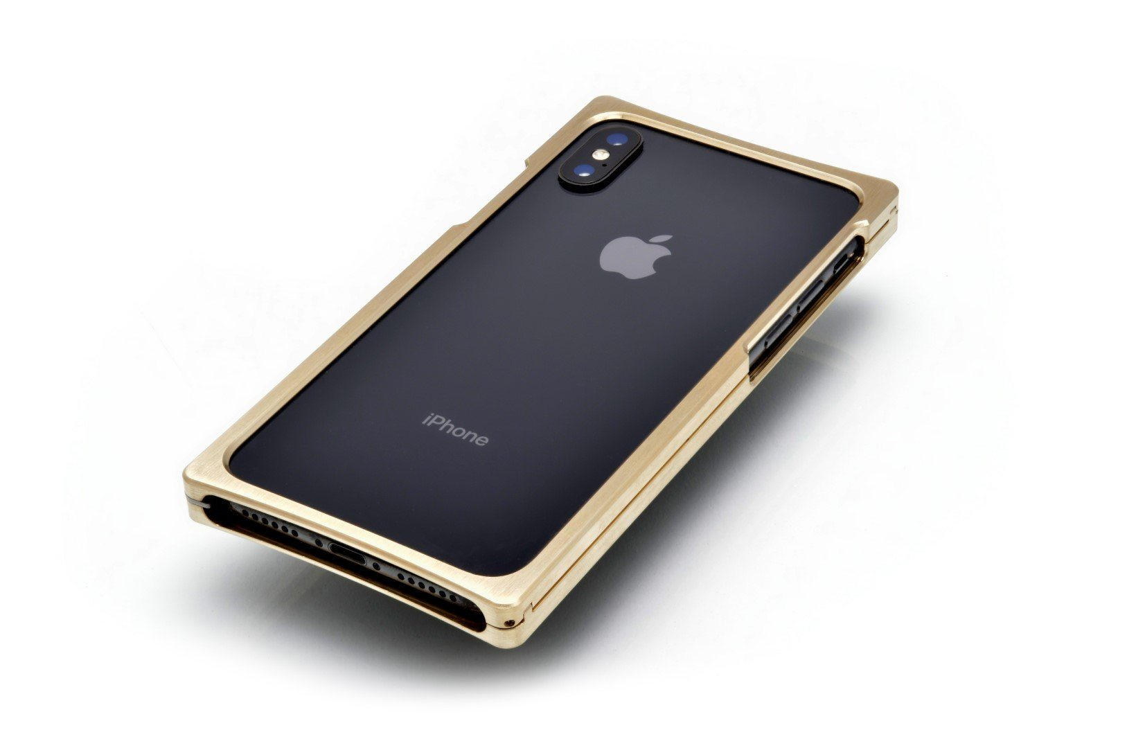 Brass with Open Back for the iPhone X