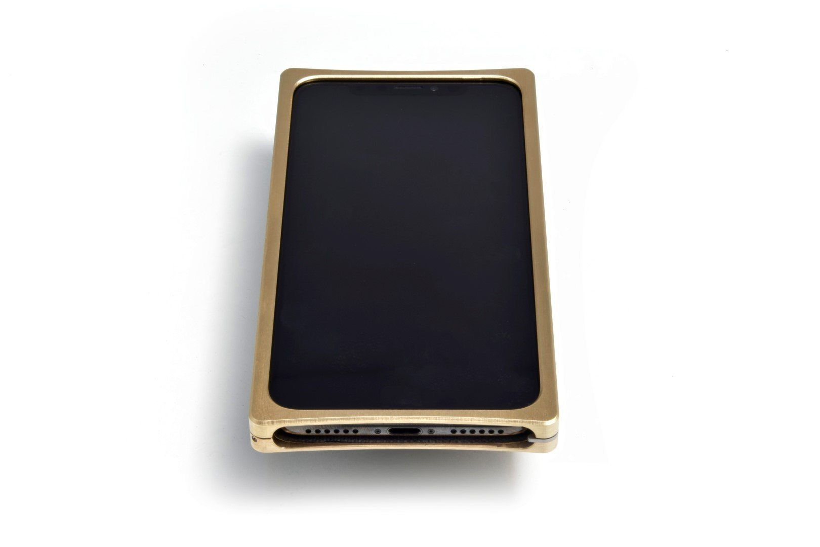 EXO-X Brass and Louro Preto for the iPhone X