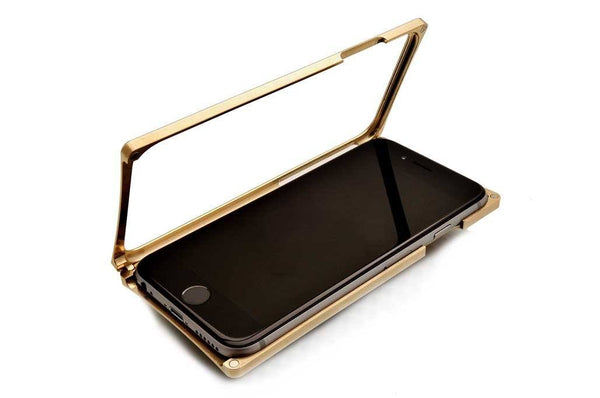 EXO23-S Brass Teak for the iPhone 6/6s