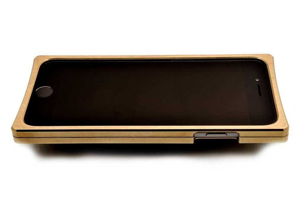 EXO23-S Brass Teak for the iPhone 7/6s/6 Plus