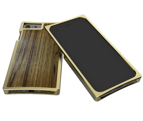 EXO23-S Brass Teak for the iPhone 7 Plus