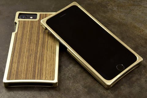 EXO23-S Brass Teak for the iPhone 8/7/6s/6