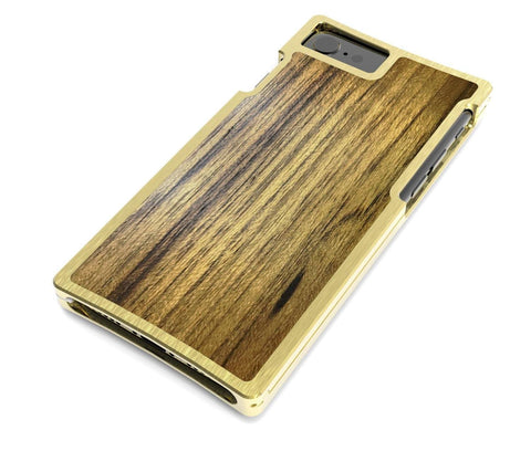EXO23 Brass Teak for the iPhone 7