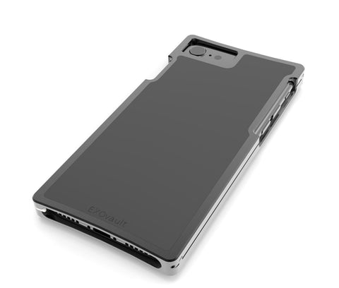 EXO23-S Black Aluminum Black Composite for the iPhone 8/7/6s/6