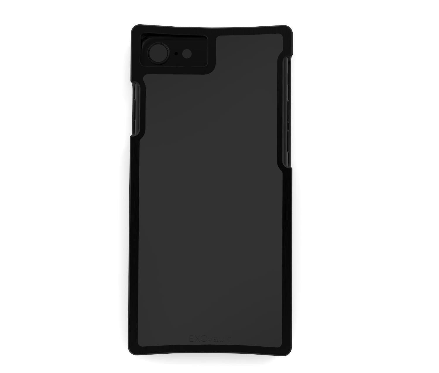 EXO23-S Black Aluminum and Matte-Black G10 for the iPhone 8/7/6s/6 Plus