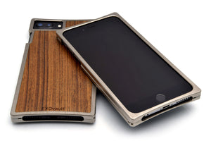 EXO23-S Nickel and Teak for the iPhone 8/7/6s/6 Plus