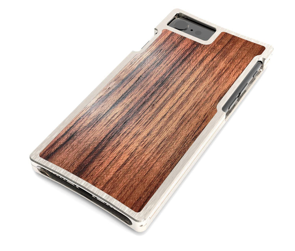 EXO23-S Nickel and Teak for the iPhone 8/7/6s/6