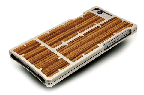 EXO23-S Nickel Teak for the iPhone 6/6s Plus