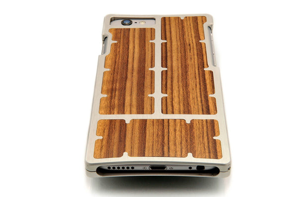 EXO23-S Nickel Teak for the iPhone 6/6s