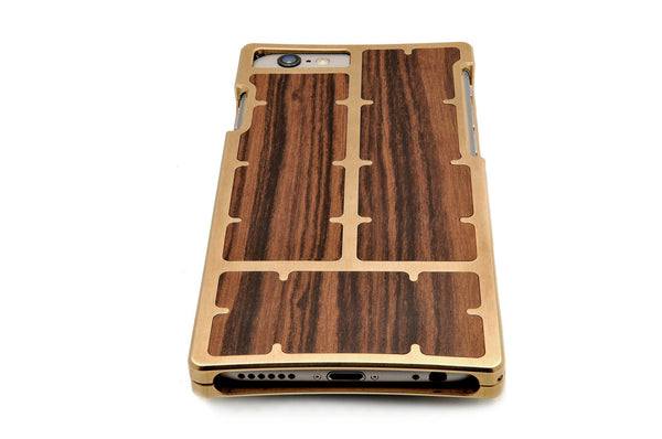 EXO23 Brass Louro Preto for the iPhone 6