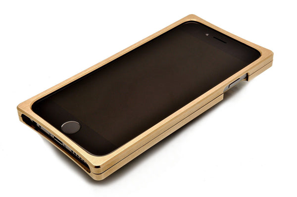 EXO23-S Brass Louro Preto for the iPhone 6/6s