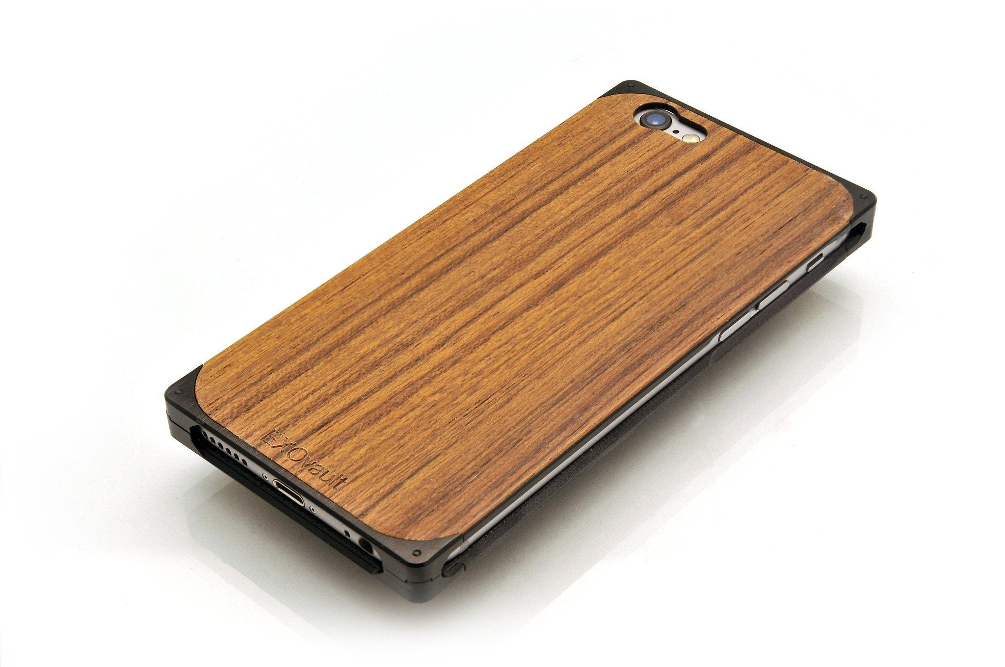 EXO24 Black Aluminum Teak for the iPhone 6/6s