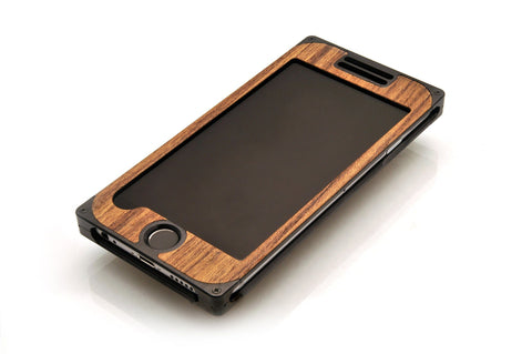 EXO24 Black Aluminum Teak for the iPhone 6/6s Plus
