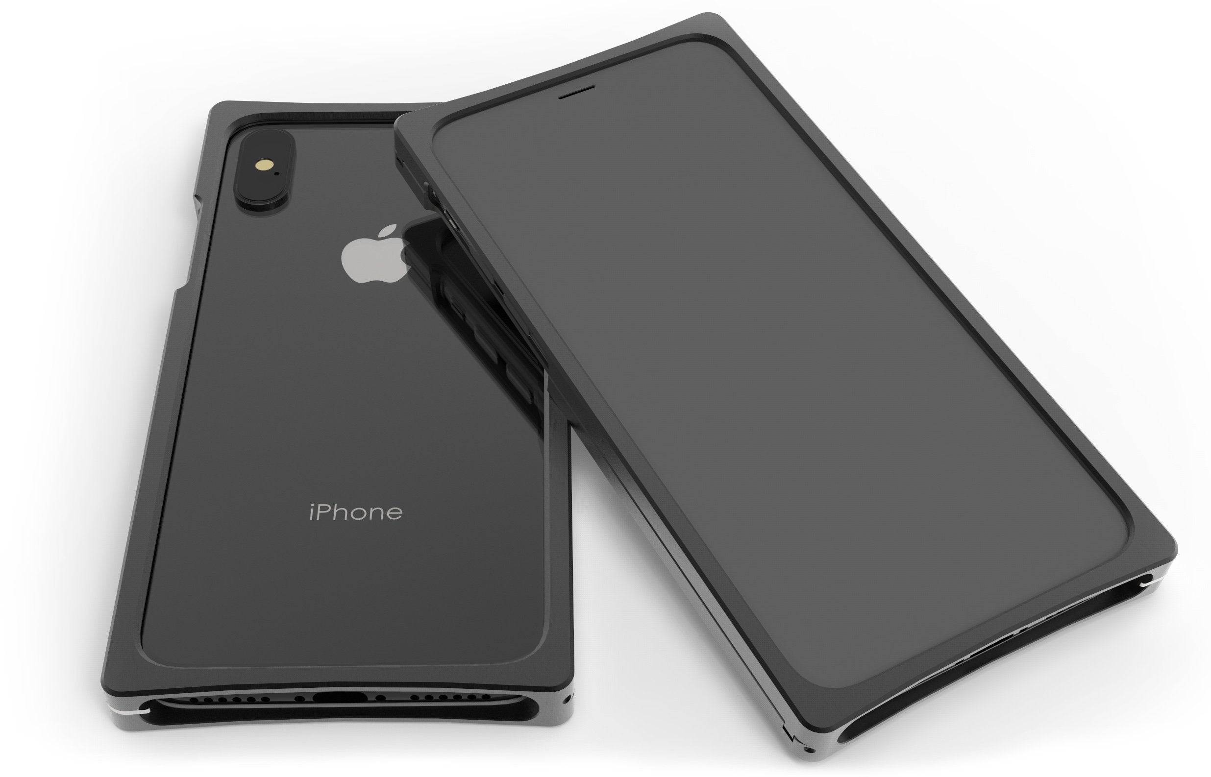 Cage in Black Aluminum for iPhone XS Max
