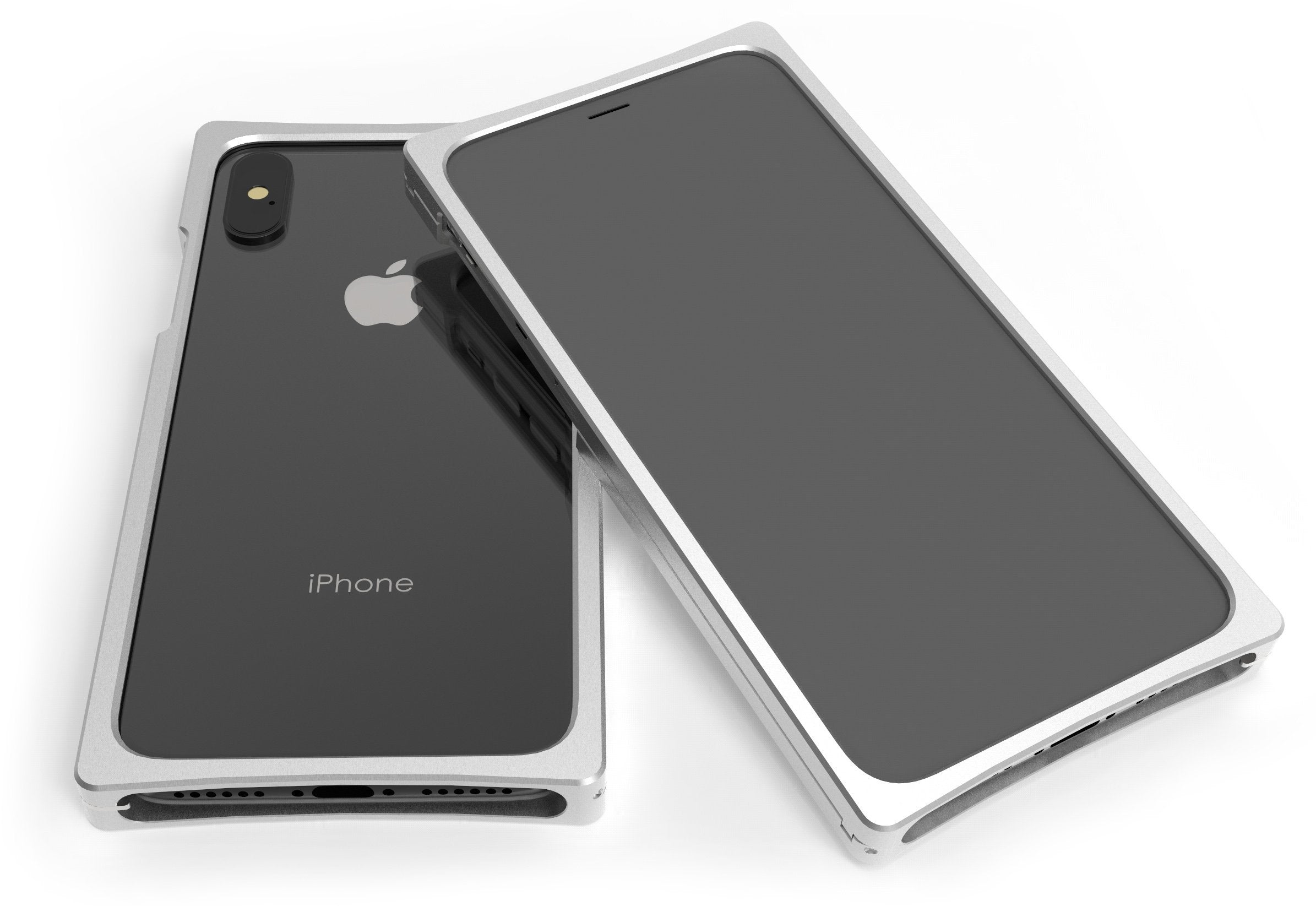Cage Nickel Plated Aluminum for iPhone X