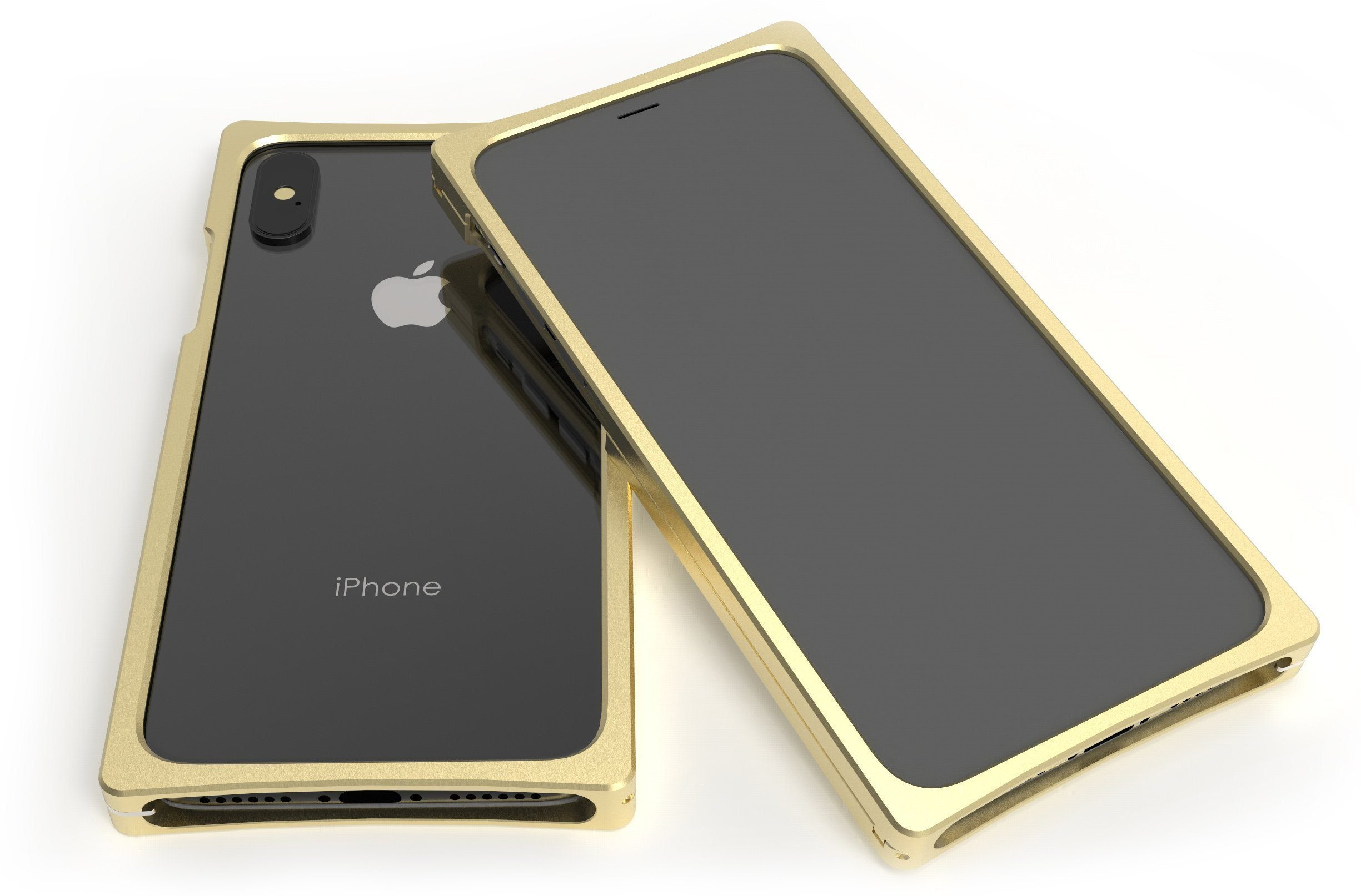 Cage in Brass for iPhone XS
