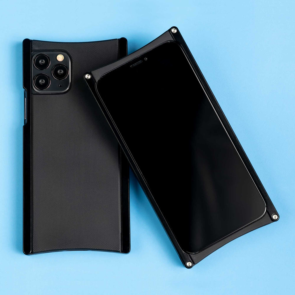 Europa case in Black Aluminum and Black G10 for iPhone 11 Pro