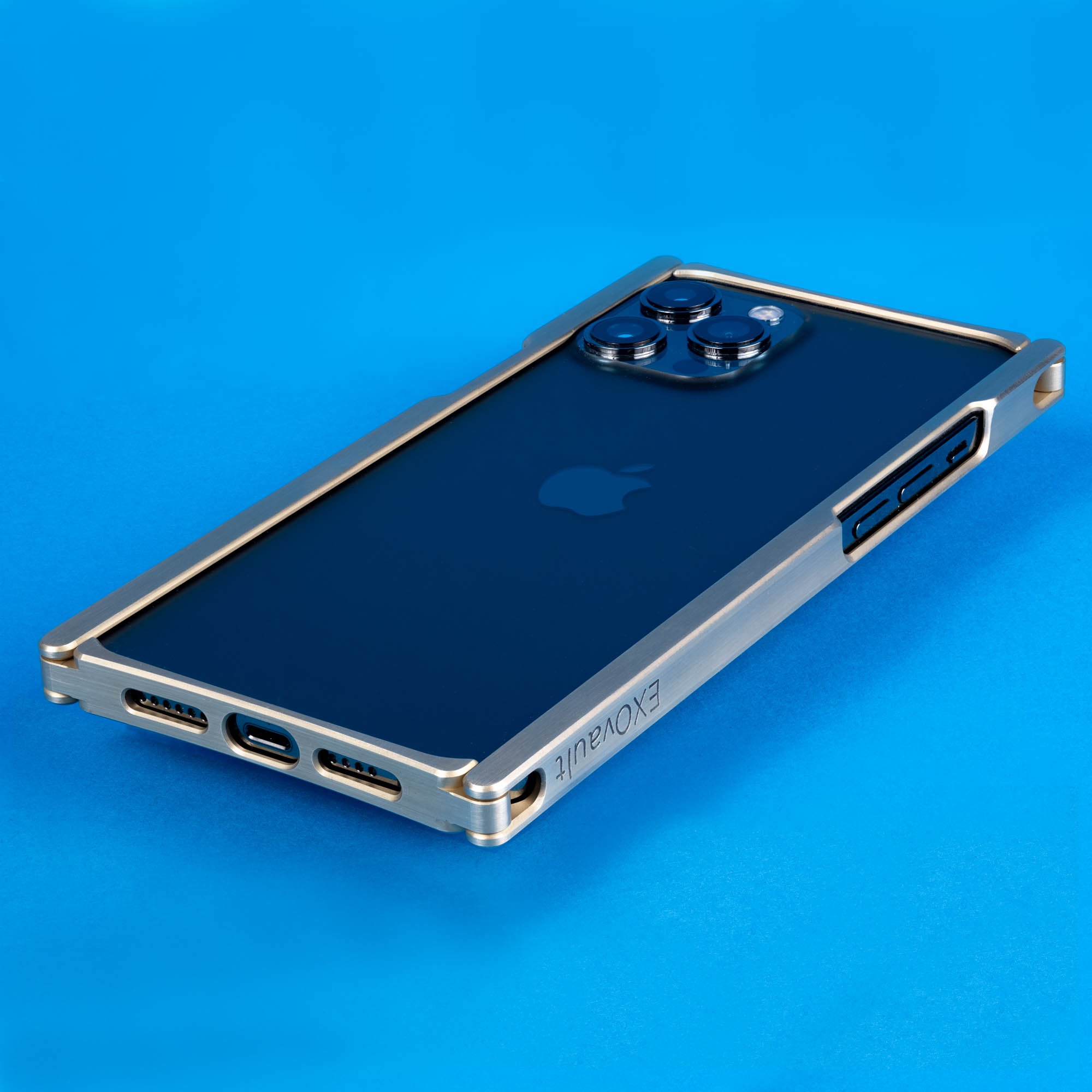 Europa, iPhone 12 Pro Max Case, Brass Cage
