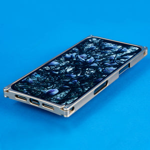 iPhone 12 Pro Max Case, Brass and Rosewood