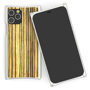 Europa 12 Pro Silver Aluminum and Zebra Wood - Preorder