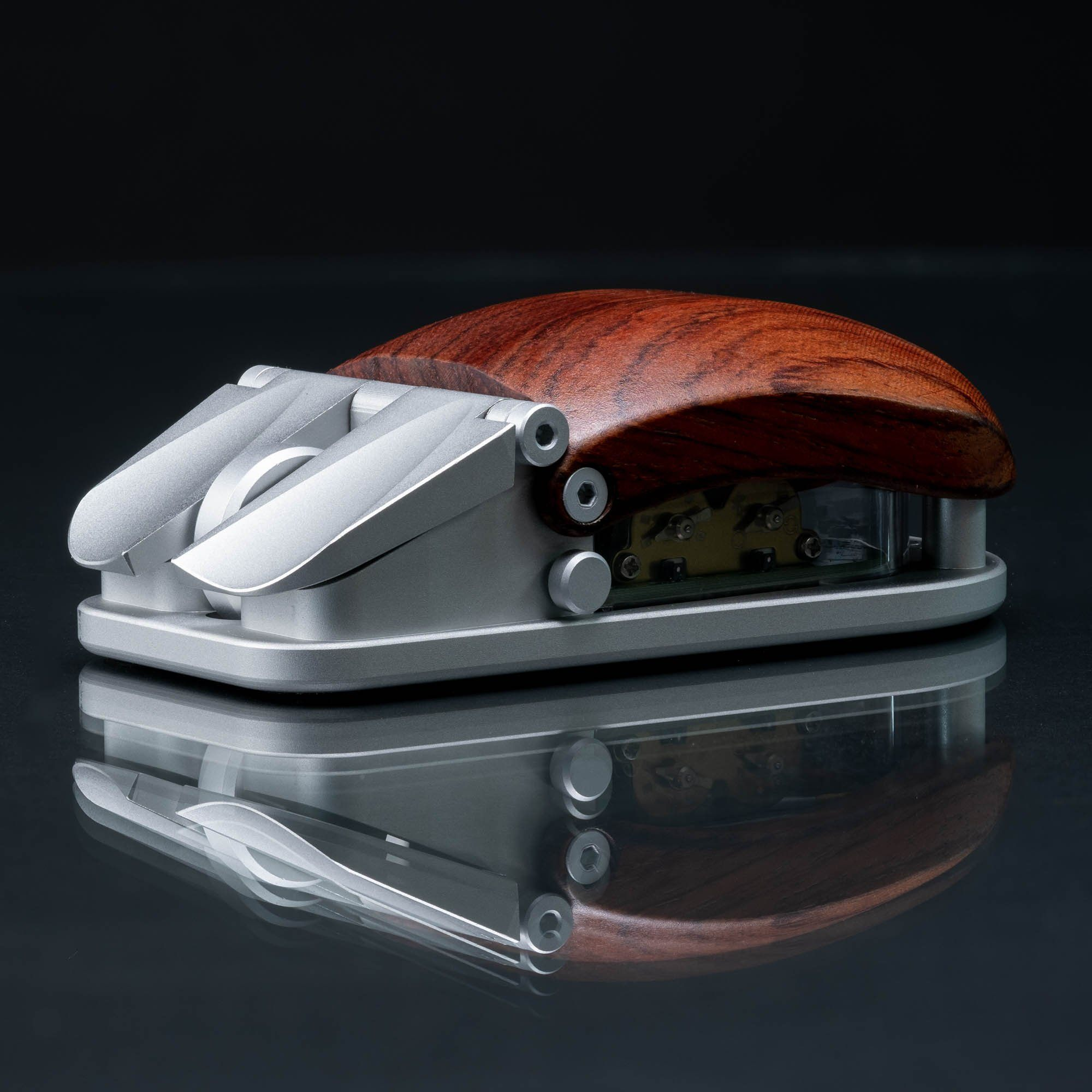 EXOvault Mouse Silver