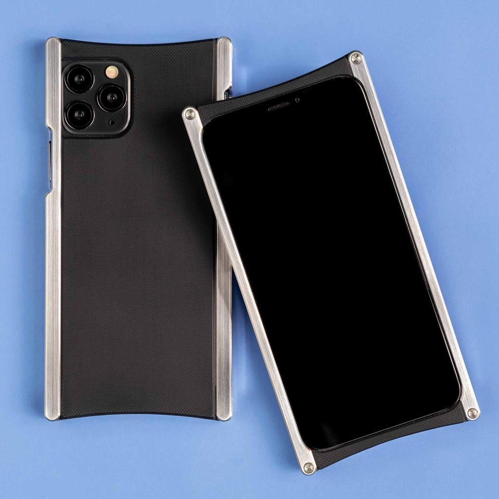 Europa case in Heritage Nickel and Black G10 for iPhone 11 Pro